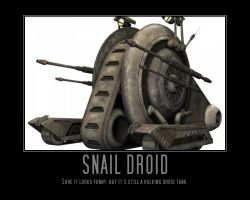 Star Wars The Clone Wars Snail Tank by Onikage108