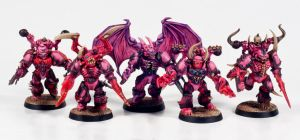 Possessed Chaos Space Marines by Dullspork