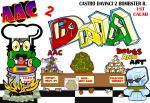 DNA CALABORATION Bombster R 2 Castro Davinci by N2D-Nothing-2-Do