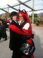 Anime Banzai 2012 Will and Grell by Fainting-Ostrich