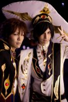 CodeGeass - Emperor and Knight by ShamanRenji