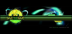 save the rave website front by nemezees