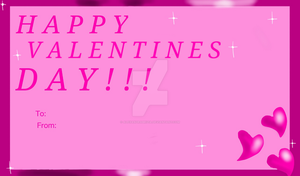 Greeting Card-Happy Valentines Day! (Late...) by AlexandraBrizia