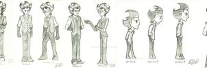 Don't Starve: Art style evolution by DreamWithinTheHeart