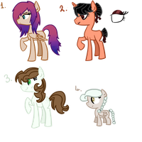 MLP Point Adoptables by Athene112