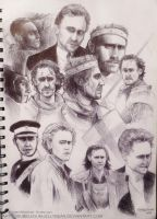 Tom Hiddleston-Ballpoint Sketch (Tom and Friends) by Bubblegum-Jellybean