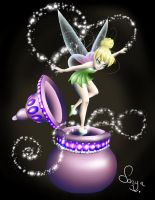 Tinkerbell by canarycharm