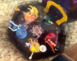 Sailor Moon planetary display! by TennyCap