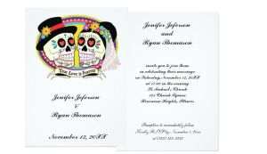 Customized Halloween Wedding Invitation by aquachild