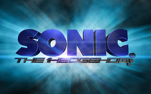 Sonic The Hedgehog 3D logo by fsuarez913