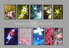 Spring flower collection by roup14