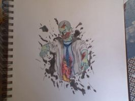 me as a zombie by unknownknite