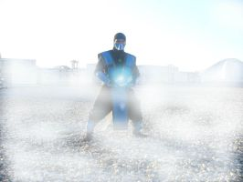 My Sub-Zero cosplay by TheLinKueiNinja