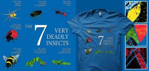 7 Deadly Insects -redesign- by graffd02