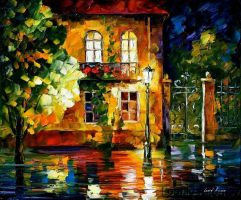 Afremov DREAM Original Art Oil by Leonidafremov