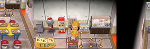 ACNL - Welcome to my museum school cafeteria by Magic-Kristina-KW