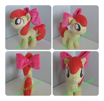 My first Apple Bloom commission by GreenTeaCreations