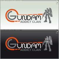 Logo Gundam Addict Clan Ver.2 by ogamitaicho