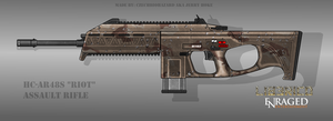 Fictional Firearm: HC-AR48s [Riot] Assault Rifle by CzechBiohazard