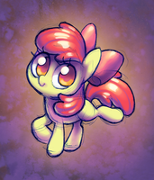 Apple Bloom doodle by Celebi-Yoshi