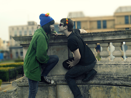 Homestuck Sollux x Nepeta by Mollymoo22