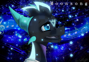 Moonsong Headshot by GoldenTigerDragon