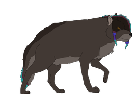 Emo Wolf Auction CLOSED by Zari-Adoptables