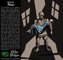 Order of the Dragon 12-The Golem: Adam by Gummibearboy