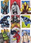 Marvel 75 anniversary sketch card sample by mdavidct
