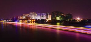 Chao Phraya Night by comsic