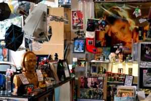 The Star Wars Store by exarobibliologist