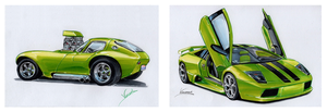 Green Machines by vsdesign69