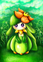 Lilligant by D685ab7f-pis