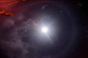 Moon Halo Jan 13, 2014 by archaznable30