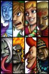 Skyward Sword Battlecuts by Tuinen