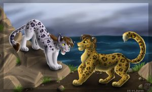 Ketty and Leo by Sirzi