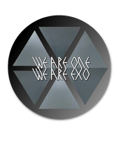 EXO Logo Pin by xElaine