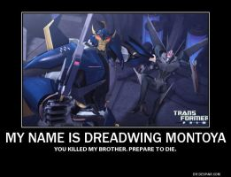 Dreadwing Demotivational by TheSpaceUnicorn
