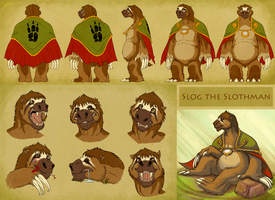 Slog Character Sheet by Heilos