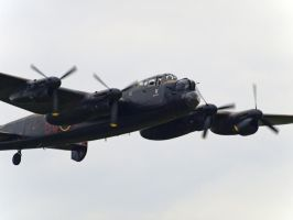 Avro Lancaster Old Warden by davepphotographer