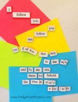 The Daily Magnet #107 by FridgePoetProject