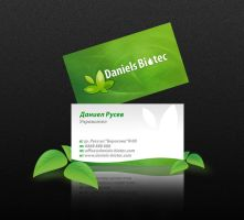 daniels biotec business card by mashine