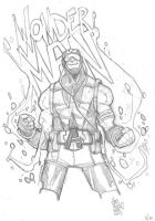 DailyDoodle 2: Wonder Man by alessandromicelli