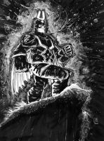 Black Bolt by mrjaymyers