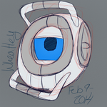 Wheatley Warmup by CadaverousDingo