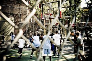 basketball game by onon