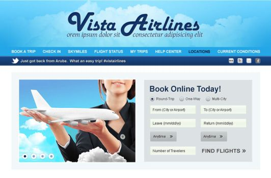 Vista Airlines by Everywhen