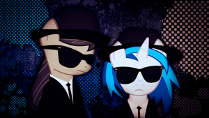 The Blues Ponies by JustaninnocentPony
