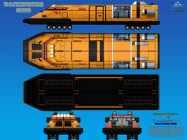 Thunderbird 3 (TB-3) Ground Operation Vehicle by haryopanji