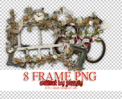 20150629- 8 Frames PNG Resources by jessyly